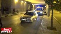 Ehliyetsiz sürücü dehşet saçtı