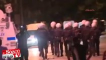 Ankara'da eylemcilere sert müdahale