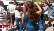 Katliamlara karşı eylem yapan SDP'lilere müdahale