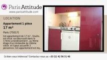 Appartement Studio à louer - Batignolles, Paris - Ref. 6327