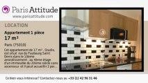 Appartement Studio à louer - Gare de l'Est/Gare du Nord, Paris - Ref. 8334