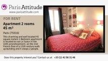 1 Bedroom Apartment for rent - Porte Maillot/Palais des Congrès, Paris - Ref. 3855