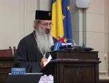 Prof. Radu Ciuceanu decorat de Patriarh la simpozionul aniversar INST din Aula Academiei Române - TRINITAS TV