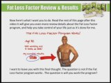 Fat Loss Factor Review - Fat Loss Factor, Losing Weight Product, Losing Weight