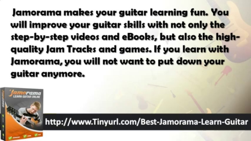 Jamorama Learn Guitar Product | Jamorama Learn Guitar Notes