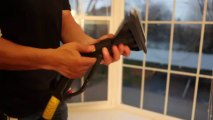 How to Clean Window and Window Sill with Daimer Steam Cleaner