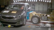 Le Kia Carens obtient 5 étoiles aux crash-tests Euro NCAP