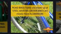 Differences Between Mountain Bikes and Road Bikes Melbourne