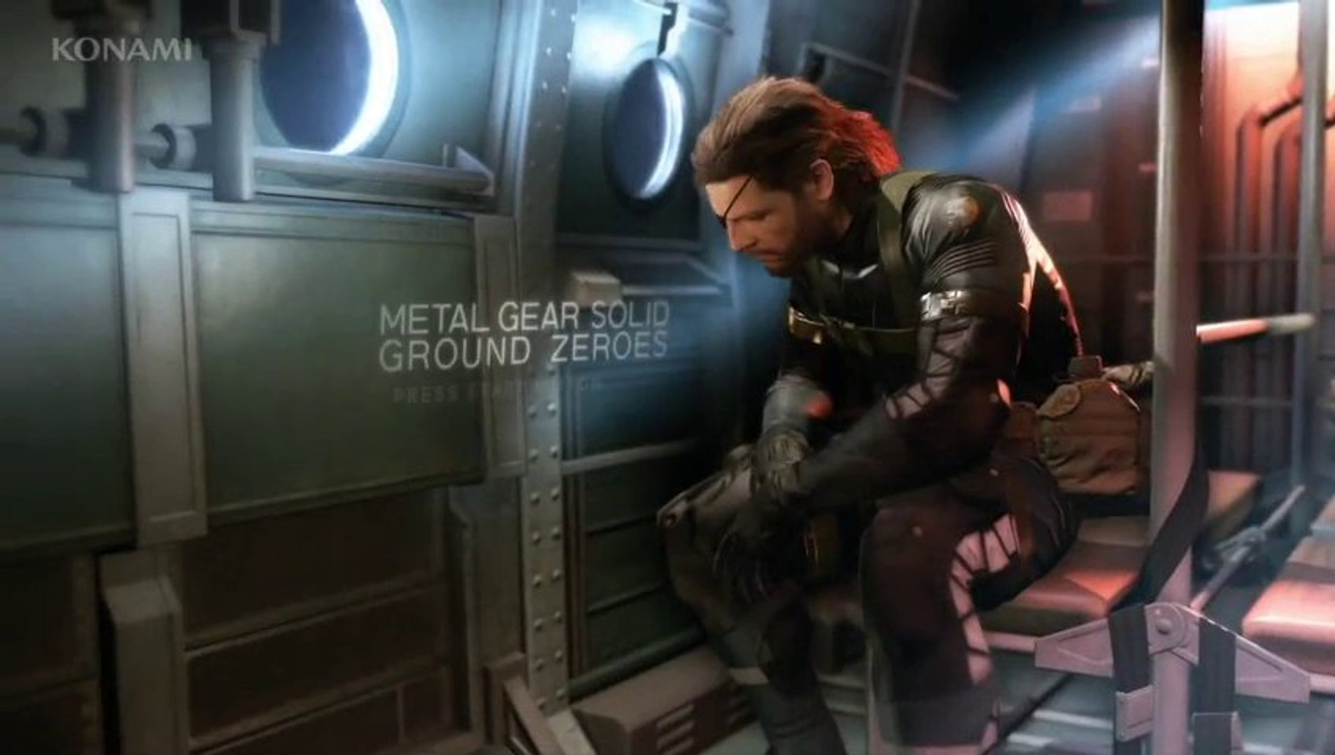 Metal Gear Solid V Ground Zeroes Night Time Gameplay Demo Hd