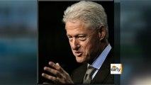 Bill Clinton parties like a rock star