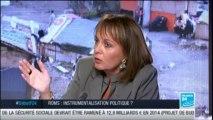 Brigitte KUSTER invitée du Débat de France 24