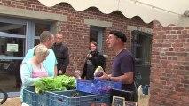 Le marché à la ferme des Aigrettes