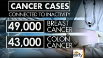 Inactivity linked to breast, colon cancer: study