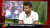 Piqué à la TV avec un maillot de la France, le DJ du PSG met une musique de l'OM... Le zapping Top Mercato de la semaine !