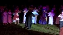 Neuville-Bosc  Le son et lumiere Arsène Lupin joué avec brio par 150 bénévoles