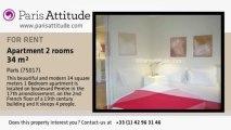1 Bedroom Apartment for rent - Porte Maillot/Palais des Congrès, Paris - Ref. 4846