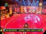 Esto es Guerra : Jazmín Pinedo retó a Gino Assereto en una de las competencias