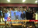 NRI fans celebrate Attarintiki Daredi release in New Jersey - USA