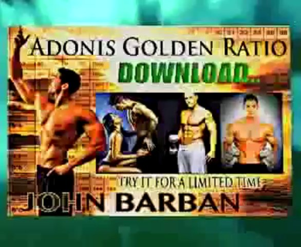 Adonis Golden Ratio Workout – Muscle Gaining Workouts