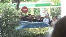 Grèce : Le parti d'extrême droite Aube dorée proteste...