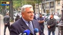 """Frédéric Cuvillier: """"Il s'agit d'apporter toutes les informations aux victimes"""" - 28/09"""