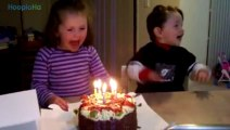 Adorably Messy Babies Eating Birthday Cake