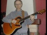 LES FEUX DE PARIS ( Jean Ferrat ) interprétée par Francis le frère d' une amie Facebook..!