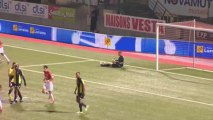 AS Nancy-Lorraine (ASNL) - AC Arles Avignon (ACA) Le résumé du match (9ème journée) - 2013/2014