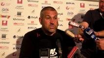 Rugby Top 14 - Christophe Urios réagit après Oyonnax - Toulon 3