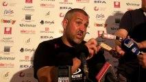 Rugby Top 14 - Christophe Urios réagit après Oyonnax - Toulon