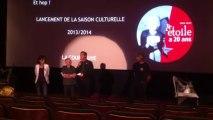 Le cinéma l'Etoile de La Courneuve fête ses 20 ans - introduction de Gilles Poux, maire de La Courneuve