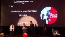 Le cinéma l'Etoile de La Courneuve fête ses 20 ans - intervention de l'ancien maire de La Courneuve, James Marson