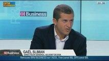 La surveillance des donnéespersonnelles sur le Web: Gaël Sliman, Guy Mamou-Mami, François Lavaste, dans 01Business - 28/09 3/4