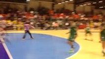 Tremblay - HBC Nîmes (LNH) | Coup Franc direct A. Bingo raté