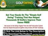 Simple Golf Swing For Beginners + Simple Golf Swing Ebook