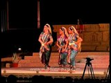 Dancers performing a Classical India Dance at Khajuraho Dance Festival