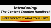 The Content Creation Handbook - Includes Full Private Label Rights