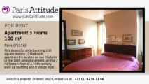 2 Bedroom Apartment for rent - Porte Maillot/Palais des Congrès, Paris - Ref. 8195