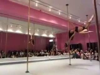Dirdy Birdy spinning pole