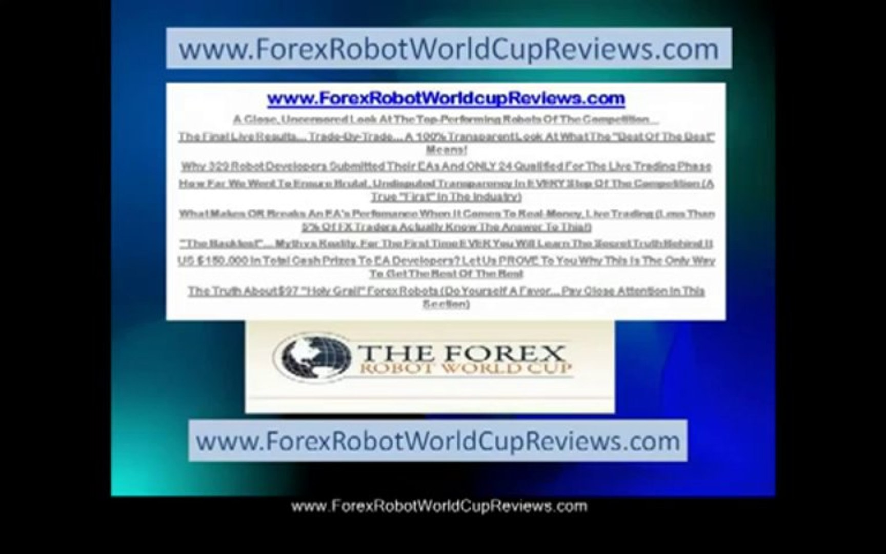 Forex Trendy-(Forex Software)--Forex Robot World Cup Reviews--Forex Software-The Best Forex Software