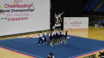 Une superbe performance de cheerleaders pendant le championnat du monde