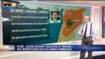 Harold à la carte: Comment savoir si Bachar al-Assad détruit sn arsenal chimique? - 28/09