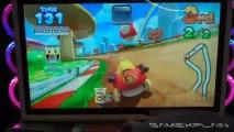 Mario Kart Arcade GP DX  Pac-Man Gameplay (Japanese Arcade Game)