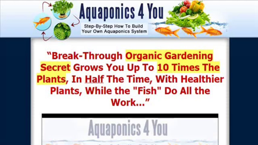 Aquaponics 4 You Review   Truth Finally Exposed!