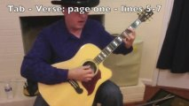 Eric Clapton - Layla - Unplugged - guitar lesson - lick-by-lick demo and link to tablature