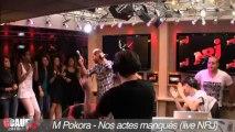 M Pokora- Nos actes manqués - Live - C'Cauet sur NRJ