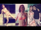 Sexy Hong Kong model Koni Lui (呂慧儀)'s bikini birthday party