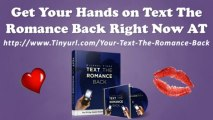 Michael Fiore Text The Romance Back Examples - Michael Fiore Text