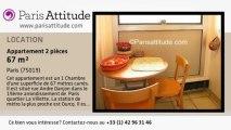 Appartement 1 Chambre à louer - Buttes Chaumont, Paris - Ref. 1134