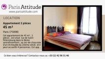 Appartement 1 Chambre à louer - Batignolles, Paris - Ref. 8351